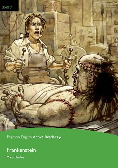 PEAR   Level 3: Frankenstein Bk/Multi-ROM with MP3 Pack - Mary Shelley