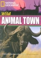 FOOTPRINT READERS LIBRARY Level 1600 - WILD ANIMAL TOWN + MultiDVD Pack