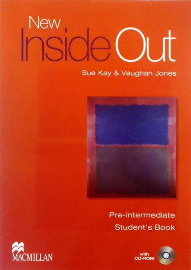 New Inside Out Student Book: Pre Intermediate With CD ROM - Sue Kay