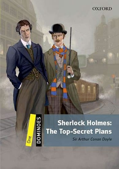 Dominoes 1 Sherlock Holmes the Top-secret Plans with Audio Mp3 Pack (2nd) - Arthur Conan Doyle