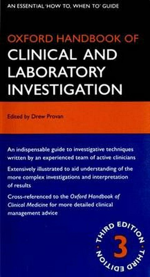 Oxford Handbook of Clinical and Laboratory Ivestigation