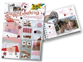 Scrapbooking set Láska
