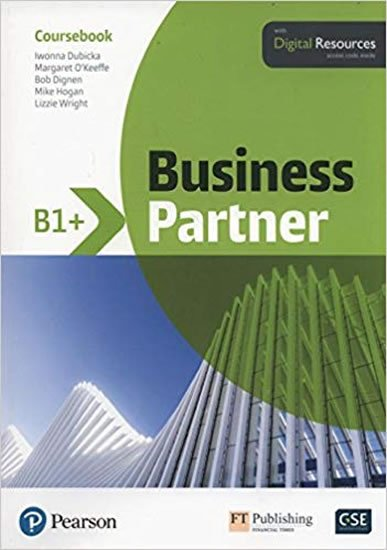 Business Partner B1+ Coursebook with Basic MyEnglishLab Pack - neuveden