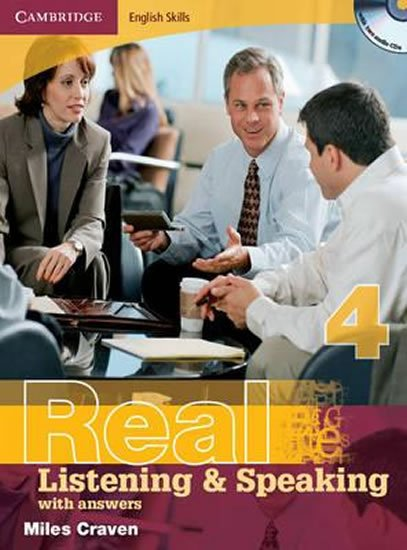 Cambridge English Skills Real Listening and Speaking 4 with Answers and Audio CD - Miles Craven