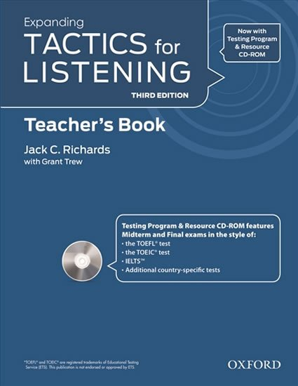 Expanding Tactics for Listening Teacher´s Book with Audio CD Pack (3rd) - Jack C. Richards