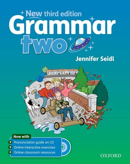 Grammar New 2 Student´s Book + Audio CD Pack (3rd) - Jennifer Seidl