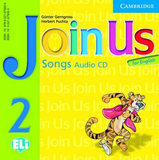 Join Us for English 2 Songs Audio CD - Günter Gerngross