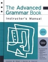 The Advanced Grammar 2nd Edition Instructor´s Manual - STEER, J. M.