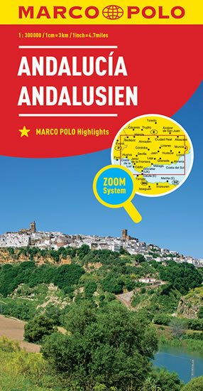 Andalusie/mapa 1:300T MD(ZoomSystem) - neuveden