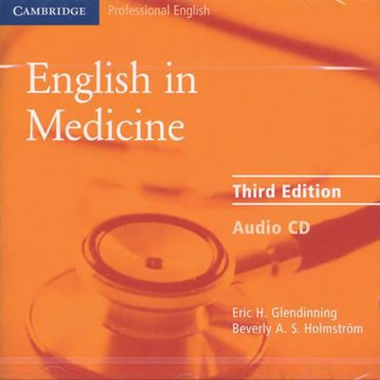 English in Medicine Audio CD - Eric H. Glendinning