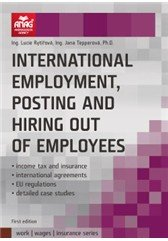 International employment, posting and hiring out of employees - Lucie Rytířová;Jana Tepperová
