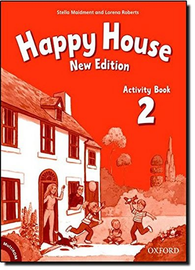 Happy House 2 Activity Book with Multi-ROM Pack (New Edition)